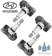 Genuine Set Of 4 Genuine Oem 11 15 Hyundai Sonata Tpms Tire Pressure Sensors Kit