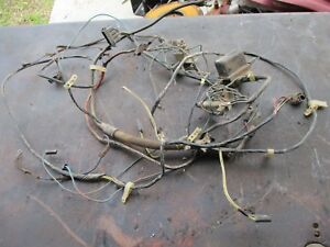 65 66 PLYMOUTH BELVEDERE II SATELLITE 67 GTX UNDER HOOD WIRE HARNESS CHARGING