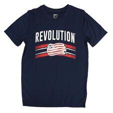 New England Revolution Adidas MLS Youth Navy Blue Performance T-Shirt