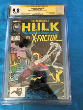 Incredible Hulk #336 - Marvel - CGC SS 9.8 NM/MT - Signed by Peter David, Geiger