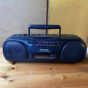 #1496 Panasonic RX-FS430 Radio FM/SW/MW/LW Cassette Boombox