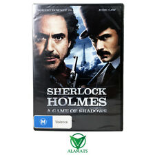 Sherlock Holmes - A Game Of Shadows (DVD) New - Robert Downey Jnr - Jude Law
