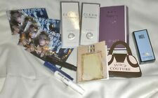 Lot/16 PERFUME SAMPLES: Chanel, Angel, Clean, Juicy Couture, Magical Moon +++