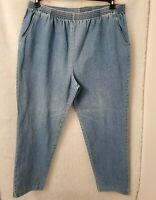 Mustang Womens Blue Jeans Pants Size 20