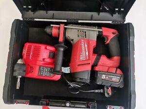 Milwaukee M18 CHPX 18V Fuel Brushless SDS Hammer Drill 1x5.0Ah BATTERY