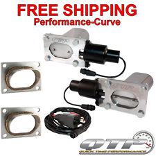 QTP Quick Time Performance Low Profile Electric Exhaust Cutout Kit - QTEC66-K1