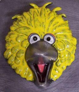 Pewter Belt Buckle cartoon Sesame Street Big Bird yellow NEW