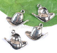10pcs Tibetan Silver Hat Charms Pendants 20X22MM B2041