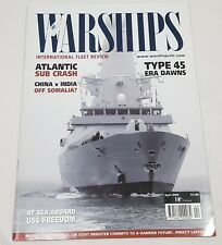 Warships International Fleet Review Magazine Back Issue April 2009