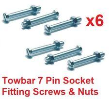 Gancho de remolque de 7/13 Pin Socket Fijación Tornillos/Pernos & Tuercas remolque remolque M5 X 35 mm
