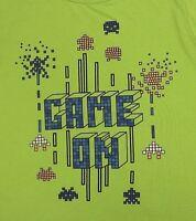 Game on Youth T-shirt XL Green Circo Sleepwear Pixels Video Game 100% Polyester