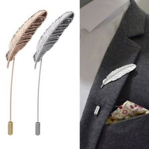 Revers-Pin Spilla Foglia Spilla Anzug-Pin Steampuk Pin ´ S 2 Colori