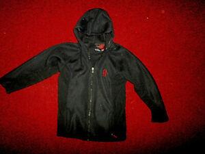 Spyder  Black Full Zip Core Mid Weight Sweater Hoodie Jacket Size: XXL EUC