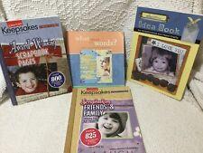 Lot of 4 Scrapbook Paper Crafts Journaling Books Leisure Arts Joann Idea