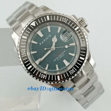 41mm Parnis Date 21Jewels Deep Blue Dial Miyota 8215 Automatic Mn's Watch 2629