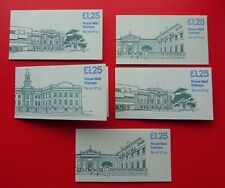 5 x Museum Series Folded Counter Books Mnh Complete