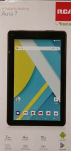 """RCA Aura 7 7"""" Tablet - 16 GB Black - New With Defects"""