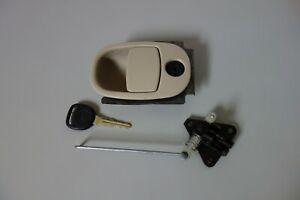 2002-2007 Buick Rendezvous Glove Box Latch Glovebox Compartment Tan w/ Key OEM