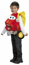 Tonka CHUCK AND FRIENDS Halloween toddler Costume  3+ fits uo to sz 6 new