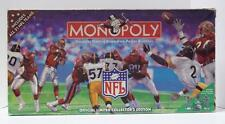 Vintage 1998 MONOPOLY NFL EDITION Hasbro Parker Brothers rich uncle pennybags