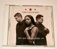 YOU GOT ME BURNIN UP Funky Green Dogs (CD, 2002, MCA) Mix Dub Edit
