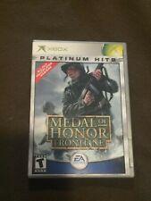 Original Microsoft XBox Video Game Platinum Hits Medal Honor Frontline Rated T