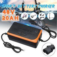 48V 20AH Ladegerät Charger Adapter Akku Li-ion für Elektrofahrrad E-Bike Pedelec