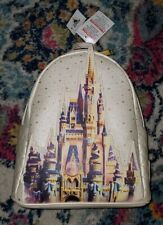 NWT Walt Disney World Park 50th Anniversary Cinderella Castle Loungefly Backpack