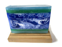 Waterlily & Bluebell Soap - Handmade Soap - Detergent Free Goats Milk Soap