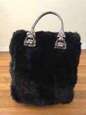 Falorni Italia Le Borse Large Fur Handbag