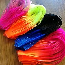 CRAZY LEGS Tipped 6 Packs 6 Colors -- Fly Tying Lot