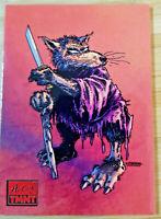 2019 TOPPS ART OF TEENAGE MUTANT NINJA TURTLES *RED PARALLEL* 1/1 MADE CARD #78