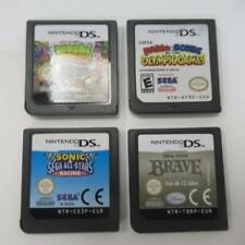 4 Nintendo DS Games Mario Sonic Olympic, Sonic AllStars Raceing,Brave, Moshi Zoo