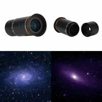 "1.25"" Ultra Wide Angle Series Eyepiece Lens 66-Deg Multi-coated for Telescope LJ"