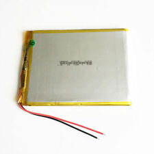 3.7V 5300mAh Li po polymer Battery Rechargeable For PAD Laptop Tablet PC 5876100