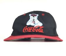 Coca Cola Embroidered Polar Bear Sunglasses Baseball Cap Hat SnapBack Adult