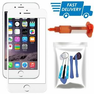 For iPhone 6 Plus/6S Plus Replacement Front Screen Touch Glass Lens Tool UV Glue
