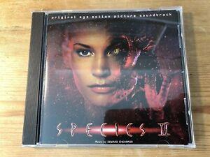 SPECIES II (Edward Shearmur) OOP 1998 TVT Score Soundtrack OST CD NM