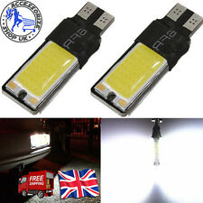 UPTO 10X T10 CAR BULBS LED CANBUS COB XENON WHITE W5W 501 SIDE LIGHT