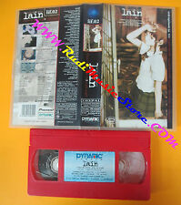 VHS film SERIAL EXPERIMENTS LAIN 2 Close world animazione DYNAMIC (F153) no dvd