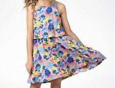 GIRLS *DISNEY STORE~LILO&STITCH SUMMER DRESS* 7-8 yrs, Pink, Floral. Character.