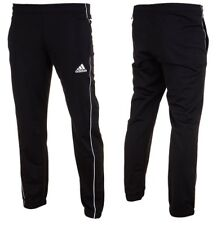 Adidas Core 18 Training Football Pants Tapered Tracksuit Bottoms Mens Black Navy