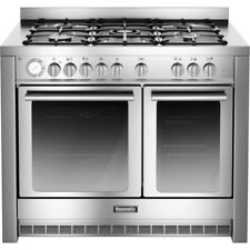 Baumatic BCD1025SS Twin Cavity 100cm Dual Fuel Range Cooker Stainless Steel #486