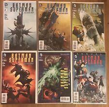 Batman Superman New 52  #1-5 + Annual #1 DC 2013 NM 1st Print
