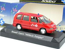 Solido 1/43 - Renault Espace II Pompiers Medecin
