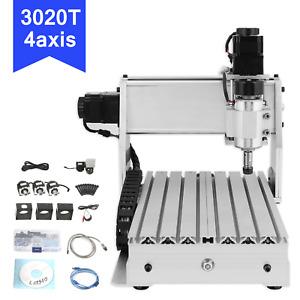 3020T 4 Achse CNC Router Graviermaschine FräSmaschine USB Holzschneider Wood