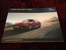 Jaguar F-Type Brochure 2018 - inc R & SVR, 400 Sport Special Edition