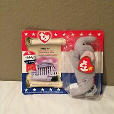 TY 2000 bears mcdonalds-Righty the Elephant Unopened Collectible toys