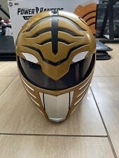 Full Size White Ranger Helmet Hasbro Power Rangers Lightning Collection