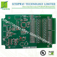Low cost 1-2Layer Professional PCB Board Manufacture Prototype Etching <10x10cm